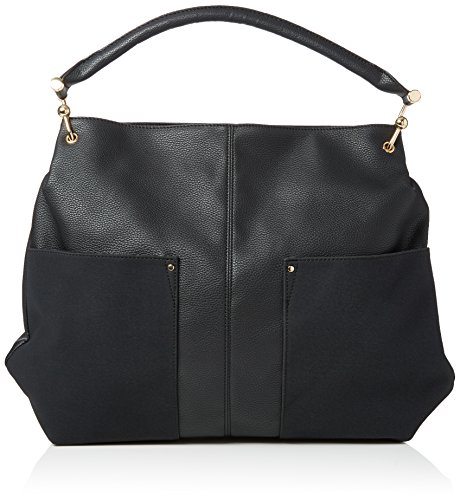 New Look Hally Slouchy, Sacs portés épaule femme, Black, 7x28x40 cm (W x H L)
