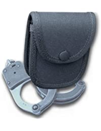 Protec police chained handcuff belt pouch