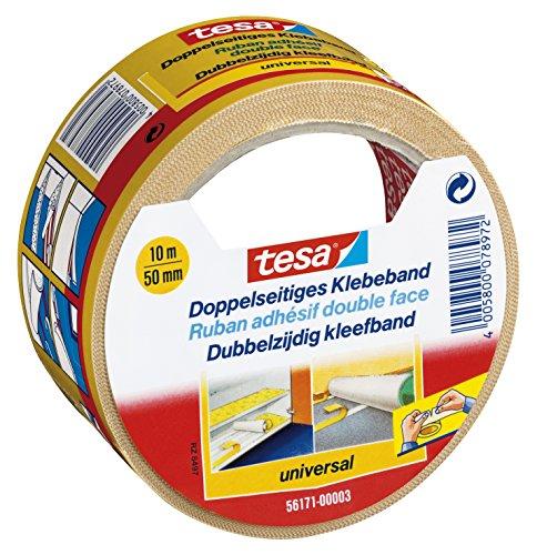 tesa® 56171-03-01 Doppelseitiges Klebeband, universal 10m:50mm