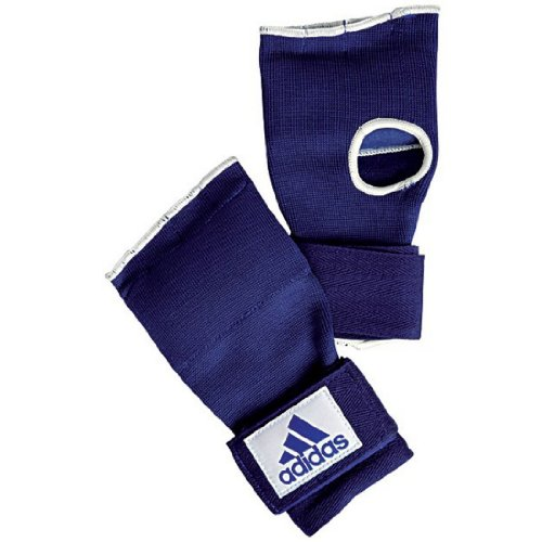adidas Super Inner Glove 'Gel Knuckle' - Blue/White