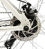 EASYBIKE E-Bike Elektofahrrad Ml5-650 27,5 Zoll Bereifung 13Ah 396Wh E-Mountainbike WEISS Modell 2016 -