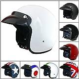 Best Crash Helmets - Leopard LEO-604 Open Face Helmet Scooter Motorcycle Motorbike Review