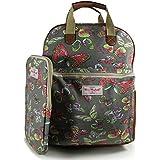 Miss Melody - Bolso mochila  de Lona para mujer Black, Grey, Green, Pink, Rose