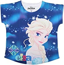 Frozen Blue Polyester For Girls DFZ0023