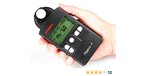 Gossen Digipro F Digitaler Belichtungsmesser Für Blitz Kamera