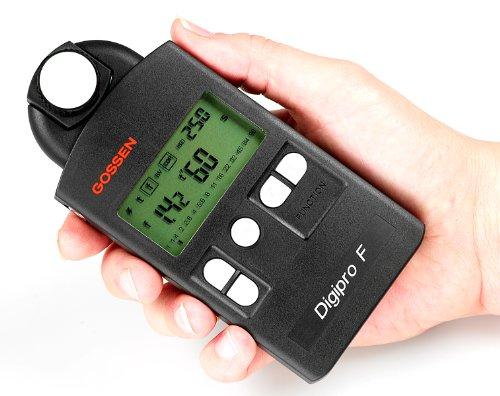 Gossen Digipro F digitaler Belichtungsmesser für Blitz- und Dauerlicht