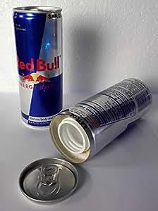 Red Bull peut - Redbull - les objets de valeur qui se cachent - boîte de rangement - l'argent - cachant réserve secrète - contenant cachée
