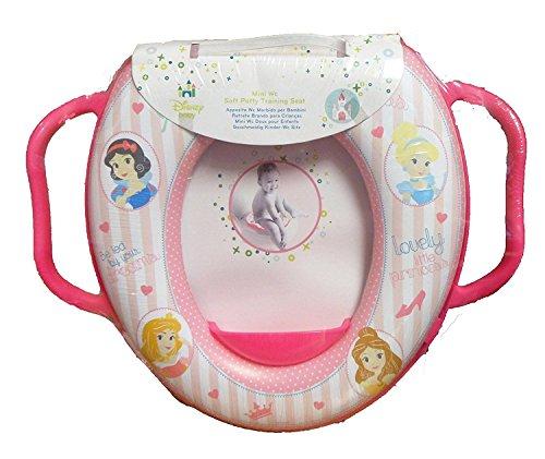 Baby Disney Prinzessinnen Weich Gepolstert Potty WC Trainer Sitz mit Griffen, Pink