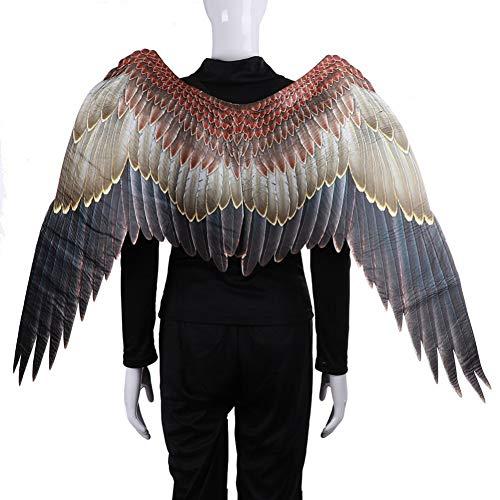 Kostüm Themen Auto - Vlies 3D Künstliche Flügel Halloween Thema Party Cosplay Kostüm Zubehör Für Erwachsene Männer Frauen Balight