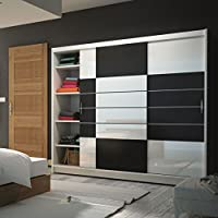 suchergebnis auf f r kleiderschrank weiss breite 250 cm k che haushalt wohnen. Black Bedroom Furniture Sets. Home Design Ideas