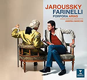 Farinelli-Porpora Arias (Edition Limitée Livre Disque)