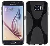 kazoj Schutzhülle Samsung Galaxy S6 Hülle im X-Design aus TPU