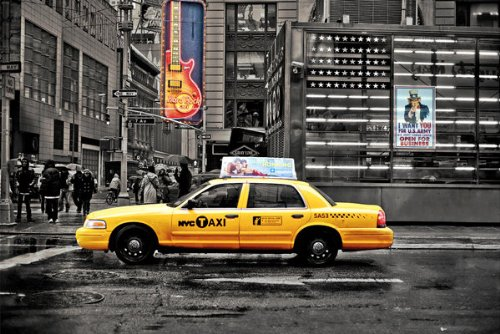 new-york-nyc-7th-avenue-yellow-taxi-cab-including-hard-rock-cafe-and-uncle-sam-large-photo-art-poste