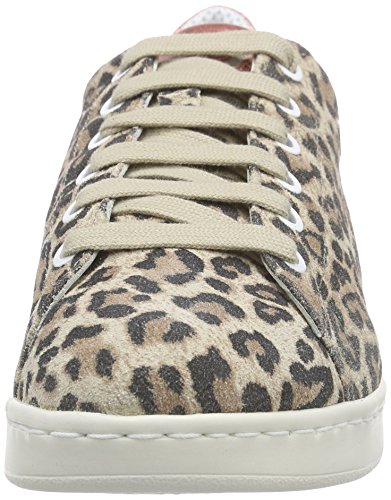 Geox Damen D Jaysen A Sneakers Mehrfarbig (LT TAUPEC6738)