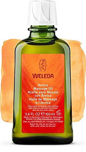 Huile de Massage à l'Arnica, Préparation et récupération sportives - Weleda (100 ml) - Vous envoyez avec: un échantillon gratuit et une très belle carte que vous pouvez utiliser comme signet!