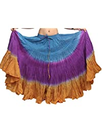 Wevez ATS de la mujer tribal Dip Dye 25Yard falda