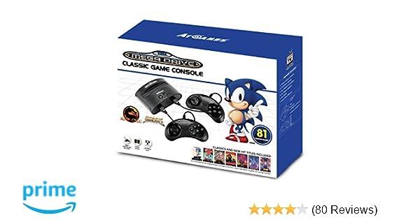 Sega Mega Drive Classic Game Retro Console 81 Built-In Games  Amazon.co.uk   Computers   Accessories baec20625