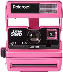 Impossible Polaroid 600 Sofortbildkamera One Step Close up Sonderedition hot rosa