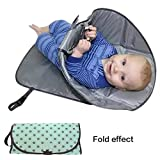 Best Diaper Changing Pad Portables - Diaper Changing Pad Diaper Clutch Portable Folding Ba Review