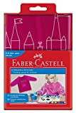 Faber-Castell 201204 - Malschürze für Kinder, Universalgröße, sortiert
