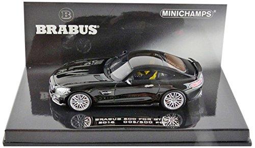 brabus-600-for-gt-s-schwarz-2016-modellauto-fertigmodell-minichamps-143