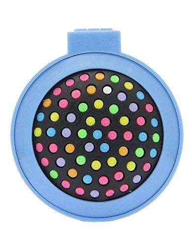 Demarkt-Peine-plegable-de-las-mujeres-Mini-Ronda-con-el-cepillo-de-pelo-de-viaje-espejo-compacto-Pop-Up-Cepillo-Decoracin-Azul