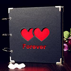 Generic 2 : Mini 10 inch DIY Album Korean Couple Retro Album Manual Paste-style Creative Gifts Banknote Albums Vintage Scrapbook Album