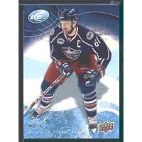 2009 10 Upper Deck Ice Hockey Card # 76 Rick Nash Blue Jackets