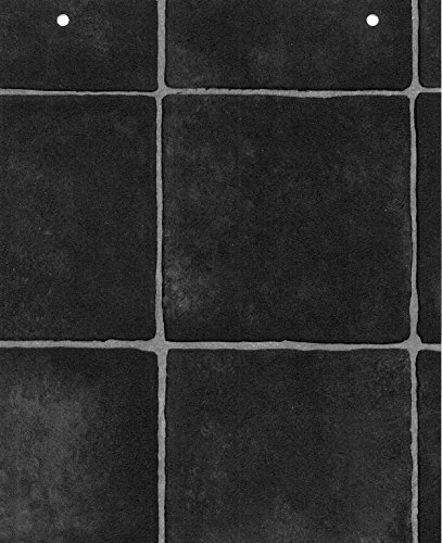 4402 Faded Black Anti Slip Vinyl Flooring Home Kitchen Bathroom Bedroom Office Lino Modern Design