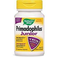 Nature's Way Complément alimentaire Primadophilus - 14 souches probiotiques - Formule pour enfant - 90 capsules