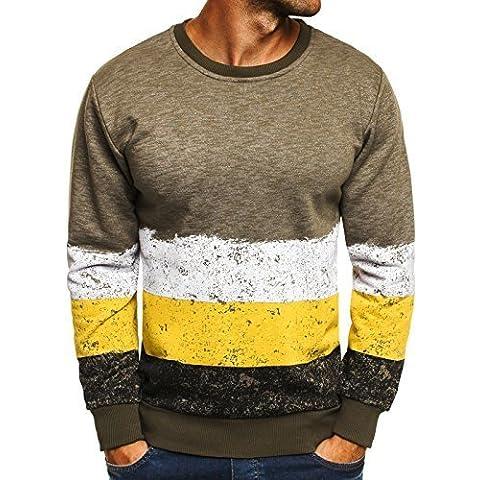 OZONEE Hombre Sudadera Camisa Estampado Impresiones Jersey MADMEXTMEXT 1700