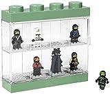 LEGO 4065 Kleine Box für Minifiguren (Schwarz), Plastik, Legion/Sand Green, 19.1 x 4.7 x 18.4 cm