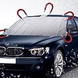 Auto Scheibenabdeckung mit 5 MAGNET Thermo Frontscheiben Abdeckung Windschutzscheiben Eisschutzfolien 161cm X 96cm