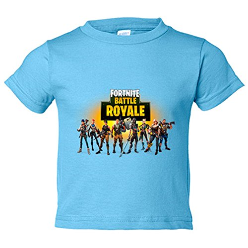 Camiseta niño Fortnite Battle Royale - Celeste, 12-14 años
