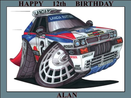 130-lancia-integrale-martini-rally-car-koolart-0130-personalised-10-x-75-icing-cake-topper-any-name-