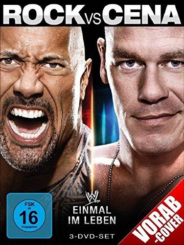 WWE - Rock vs. Cena: Einmal im Leben [3 DVDs]
