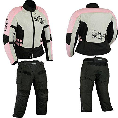 BOS Motorradkombi damen, Motorrad kombi rosa, 38