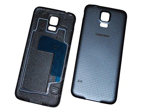 Samsung G900 F Galaxy S5 Battery Akku Cover Deckel Schale Original Neu black/schwarz