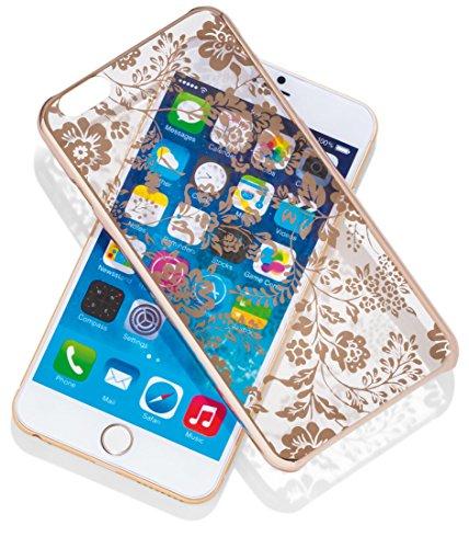 Meliconi Custodia Mirror Per Iphone 6 Plus Flower, Oro - meliconi - ebay.it
