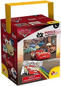 Lisciani Giochi-Cars 3Puzzle (a Tub Mini, 24Unidades, 35x 50cm, 65257.0