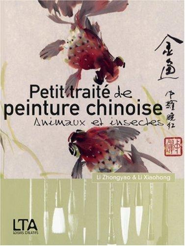 Petit trait de peinture chinoise : Animaux et insectes