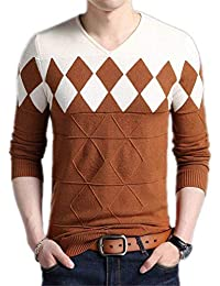 1daf3acf41be5 Betrothales Laine Cachemire Chandail Sweater Automne Hommes Hiver Slim  Pulli FI
