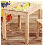 BabyKind Kindertisch und 2 Kinderstühle Kernbuche geölt BV-VERTRIEB Kindergartensitzgruppe Kindersitzgruppe Kernbuche - (2683)