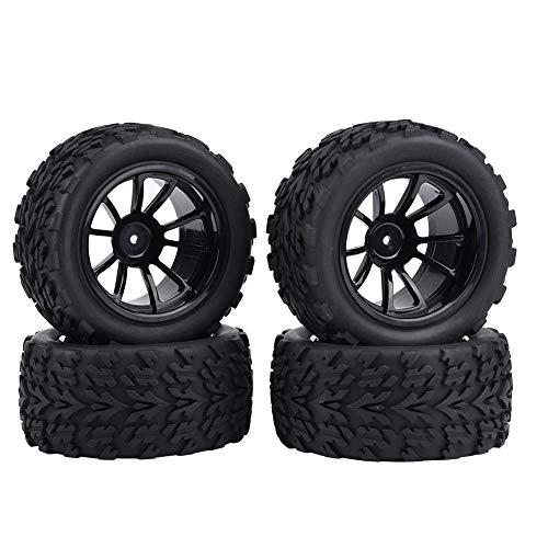 Jadpes Neumático de la Rueda Neumático de Goma,4 Piezas 10 Agujeros Modelo...