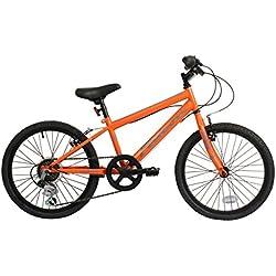 Falcon chico Jetstream rígida bicicleta de montaña - naranja/negro, 50,8 cm