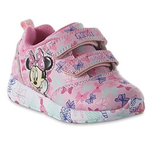Disney Toddler Girls' Minnie Mouse Sneaker, Light-Up (11)