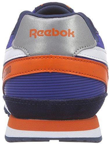 Reebok GL 3000, V69799, Jungen Laufschuhe, Blau (Team Dark Royal/Navy/Energy Orange/Steel/Wht)