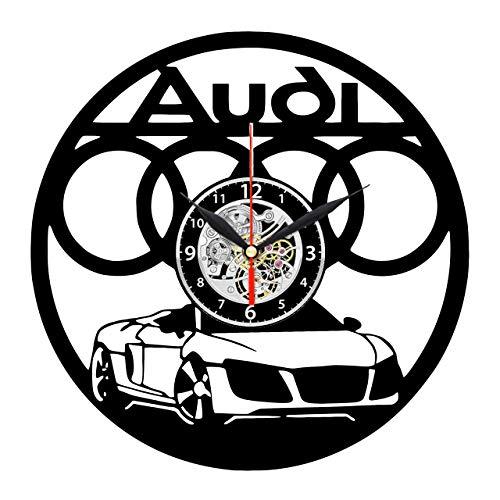 audi style the best amazon price in savemoney es Crash Audi A2 evevo audi orologio da parete dischi in vinile piastra retro orologio da parete orologio grande orologi