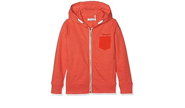 Boy es Jr 16 rojo de Ropa y Chiné Geler accesorios Teddy Amazon Sudadera anaranjado Rouge años Smith q4OXwOp