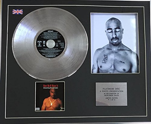 Pac-cd (Century Music Awards 2 PAC Platin CD Single + Foto - How Do U Want It)